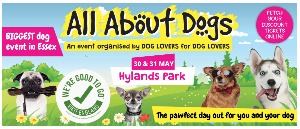 All About Dogs Show Hylands House